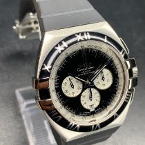 Omega Constellation Double Eagle Acero 41mm Negro Sin cifras