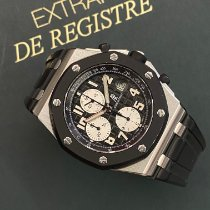 Audemars Piguet Royal Oak Offshore Chronograph Acciaio 42mm Nero Arabi Italia, Roma
