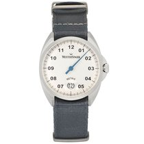 Meistersinger Steel 38mm Automatic ME901 new