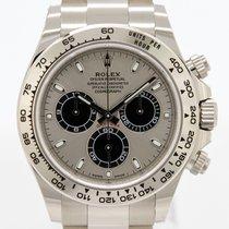 Rolex Daytona Белое золото 40mm Cеребро Aрабские