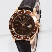Rolex GMT-Master Yellow gold 40mm Brown