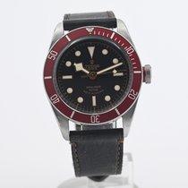 Tudor Black Bay pre-owned 41mm Black Leather