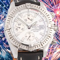 Breitling Chronomat Evolution Acero 44mm Madreperla Sin cifras