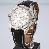 Breitling Chronomat Evolution Steel 44mm Mother of pearl No numerals