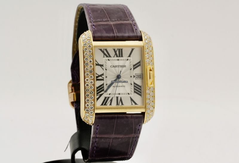 Cartier Tank Anglaise WT100022 2018 pre-owned