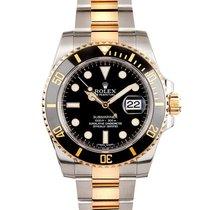 Rolex 116613 Or/Acier Submariner Date 40mm occasion
