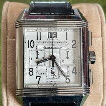 积家 Reverso Squadra Chronograph GMT 230.8.45 良好 钢 35mm 自动上弦
