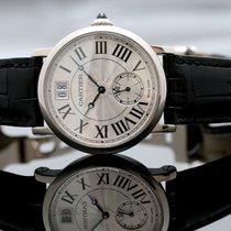 Cartier Rotonde de Cartier White gold 35mm Silver