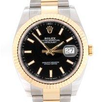 Rolex Datejust 126333 Неношеные Золото/Cталь 41mm Автоподзавод