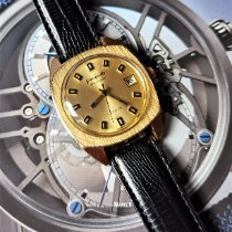 GUB Glashütte new Automatic Central seconds Limited Edition Only Original Parts 36mm Gold/Steel Plexiglass