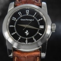 Girard Perregaux Ferrari Çelik 36mm Siyah Arap rakamları