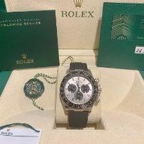 Rolex 116519LN Or blanc 2021 Daytona 40mm nouveau