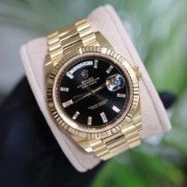 Rolex new Automatic 40mm Yellow gold Sapphire crystal