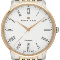 Maurice Lacroix Les Classiques Tradition Gold/Stahl 38mm Weiß