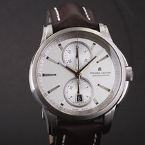 Maurice Lacroix Pontos Chronographe Steel 44mm Silver No numerals