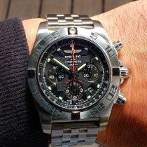 Breitling Chronomat Steel 44mm Black No numerals United States of America, Illinois