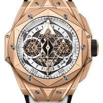 Hublot Big Bang Sang Bleu new 2021 Automatic Chronograph Watch with original box and original papers 418.OX.2001.RX.MXM20