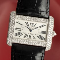 Cartier Tank Divan pre-owned 24.5mm Leather