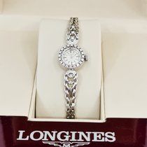 Longines Or blanc 16mm Remontage manuel occasion