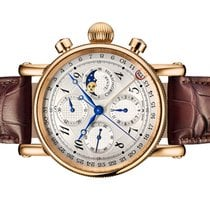 Chronoswiss Lunar Red gold 41mm Silver Arabic numerals United States of America, Florida, Aventura