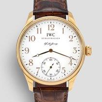 IWC Portuguese Hand-Wound Rose gold 43mm White Arabic numerals United Kingdom, London