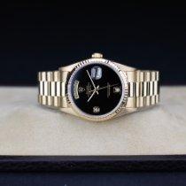 Rolex Day-Date 36 Oro giallo 36mm Nero Senza numeri Italia, BRESCIA