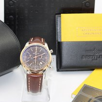 Breitling Transocean Chronograph Steel 43mmmm Bronze Arabic numerals United States of America, Delaware, Wilmington
