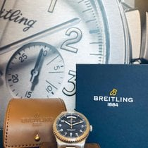 Breitling Aviator 8 Acero 41mm Azul Arábigos
