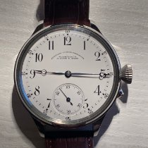 A. Lange & Söhne Steel Manual winding White Roman numerals 48mm pre-owned