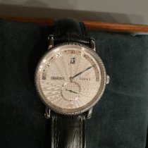 Chronoswiss Steel Automatic Silver Arabic numerals 38mm pre-owned Delphis