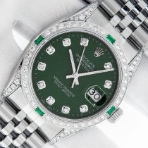 Rolex Datejust Steel 36mm Green United States of America, California, Los Angeles