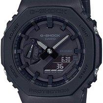 Casio G-Shock Carbon 48.5mm Black No numerals