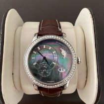 Glashütte Original PanoMatic Luna Steel 39.4mm Mother of pearl No numerals United States of America, New York, New York