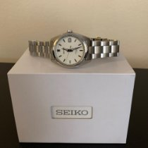 Seiko Steel Automatic Silver No numerals 38mm pre-owned Spirit