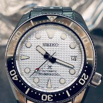 Seiko Prospex Steel 42mm Silver No numerals United States of America, New York, Troy