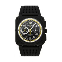 Bell & Ross BR 03-94 Chronographe pre-owned 42mm Black Chronograph Date Tachymeter Rubber