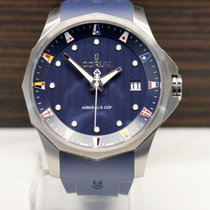 Corum Admiral's Cup (submodel) pre-owned 47mm Blue Date