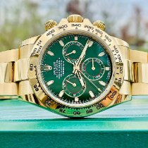 Rolex Daytona Yellow gold 40mm Green No numerals United States of America, Illinois, ROMEOVILLE