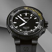 Oris Titanium Automatic Black No numerals 43.5mm new Aquis Date