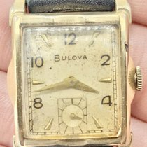 Bulova Gold/Steel 25mm Manual winding pre-owned United States of America, New Jersey, Upper Saddle River