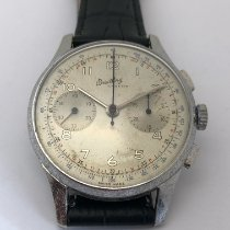 Breitling Tungsten Manual winding Silver 37mm pre-owned
