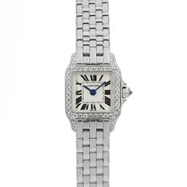 Cartier WF9005Y8 White gold Santos Demoiselle 17mm pre-owned
