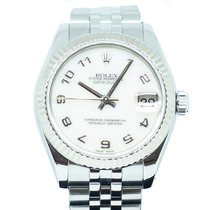 Rolex Lady-Datejust Steel 31mm White Singapore