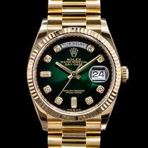 Rolex Day-Date Желтое золото 36mm