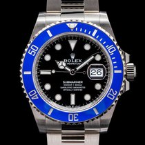 Rolex White gold Automatic 40mm Submariner Date