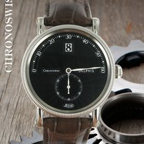 Chronoswiss Steel Automatic Black Arabic numerals 38mm pre-owned Delphis