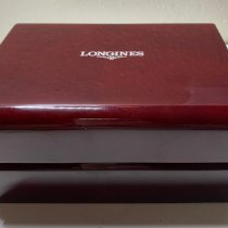 Longines Master Collection pre-owned 44mm Silver Moon phase Date Fold clasp