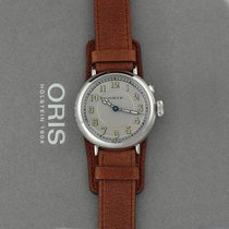 Oris Big Crown 1917 Limited Edition Stahl 40mm Silber