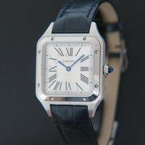 Cartier Santos Dumont Сталь 43.5mm Cеребро