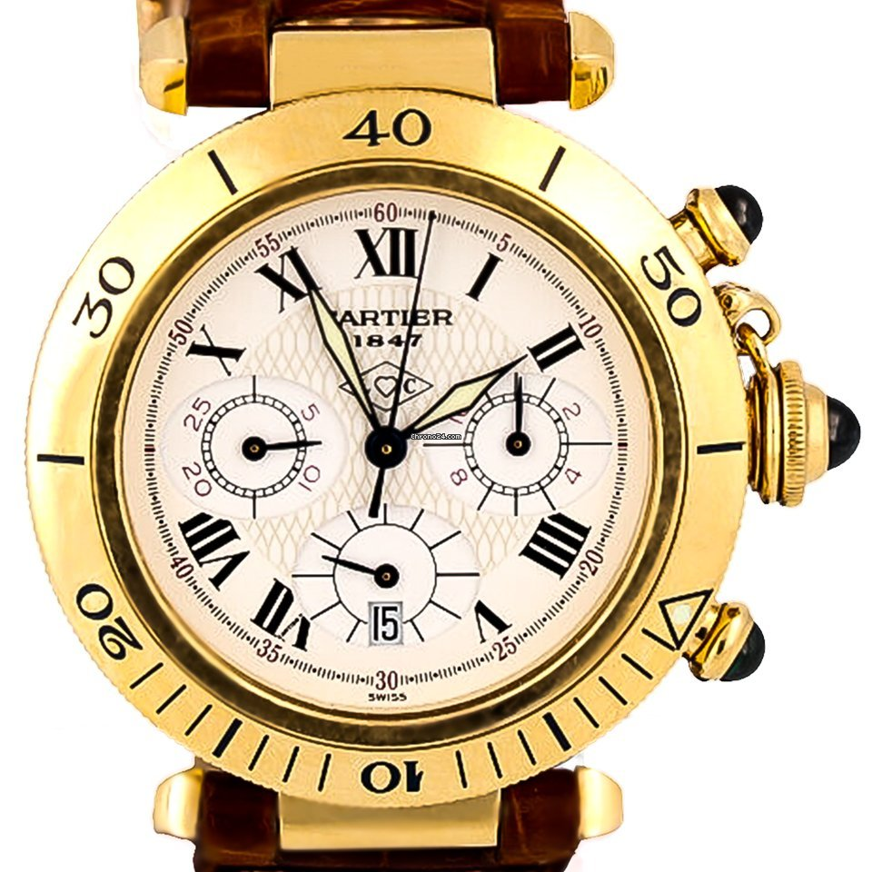 Cartier Pasha 0960 1 pre-owned